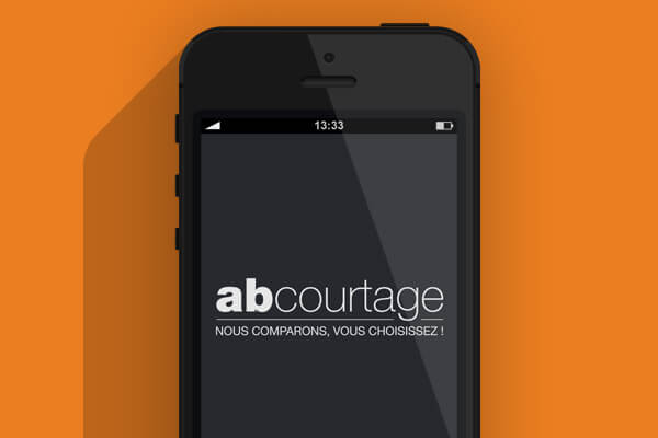 Application smartphone AB Courtage