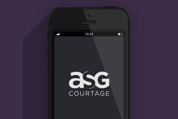 Application smartphone ASG Courtage