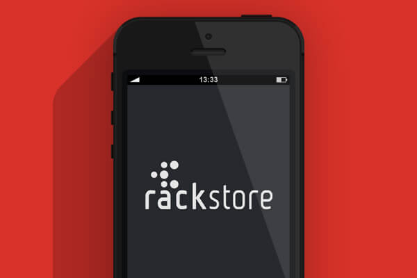 Application smartphone RackStore