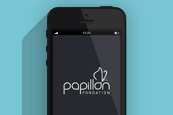 Application smartphone Fondation Papillon