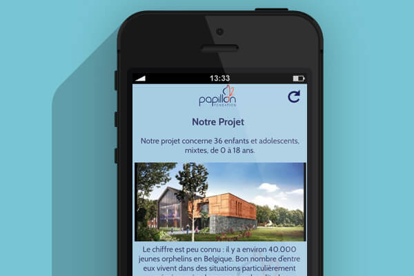App Fondation Papillon